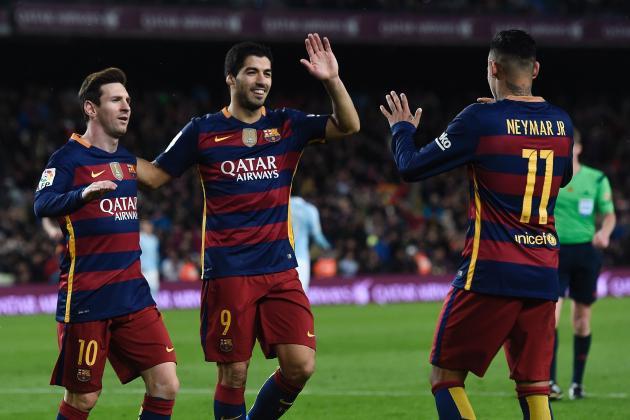 Sporting Gijon vs. Barcelona: Goals, Highlights from the 2015/16 La Liga Match