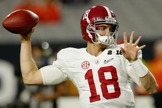 Alabama Football: Pre-Spring Practice Preview for Crimson Tide's 2016 QB Battle