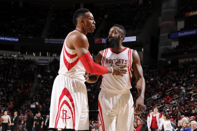 Dwight Howard, James Harden Reportedly Tried to Get Rockets to Trade Each Other