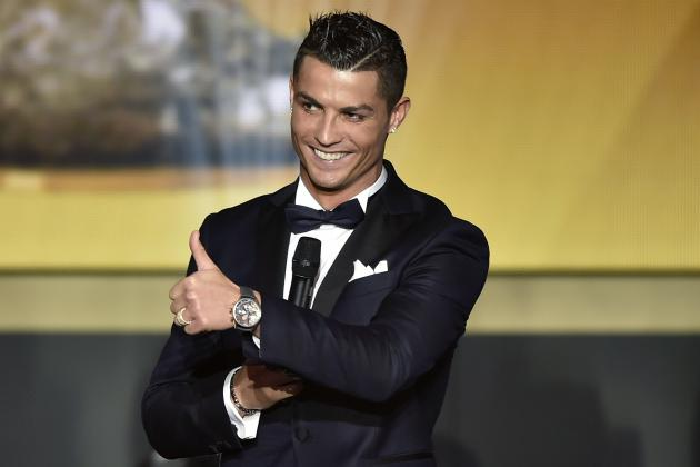 Cristiano Ronaldo Reportedly Paid £860K for 5 Signed Shirts and a Photoshoot