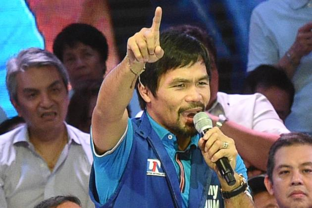 Manny Pacquiao Says He Told 'Truth' on Gay Couples, Respects Nike Contract Call