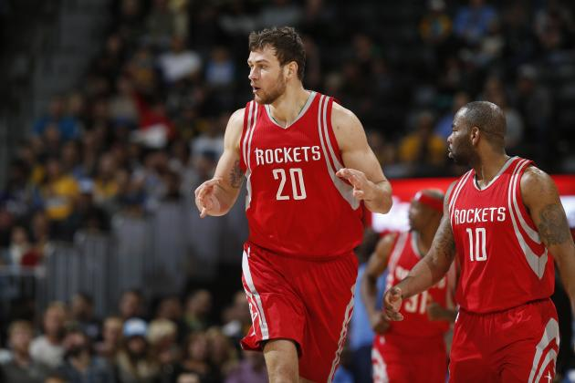 Donatas Motiejunas, Marcus Thornton Trade Reportedly Voided by Pistons