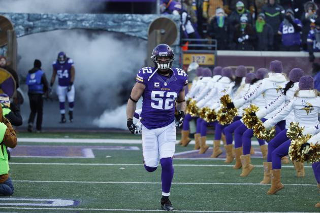 Chad Greenway: Latest News, Rumors, Speculation Surrounding Free-Agent LB