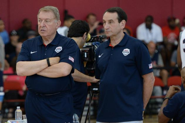 Jerry Colangelo Comments on Mike Krzyzewski as Team USA Coach at Rio Olympics