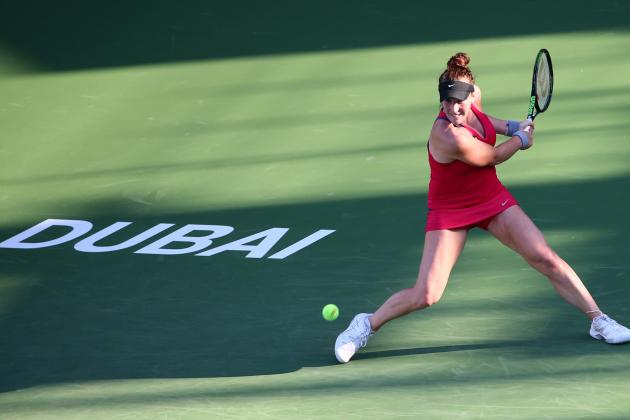 Dubai Duty Free Tennis Championships 2016: WTA Scores and Results from Friday
