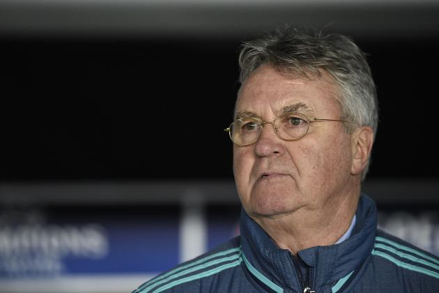Chelsea vs. Manchester City: Guus Hiddink's Key Takeaways from FA Cup Presser