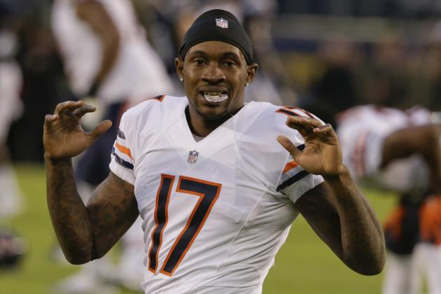 Alshon Jeffery Franchise-Tagged by Chicago Bears