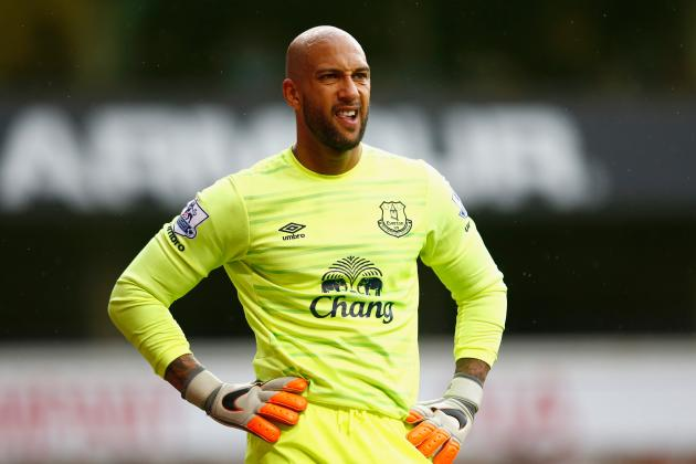 Roberto Martinez Comments on Tim Howard, Joel Robles as Everton's Top Goalkeeper