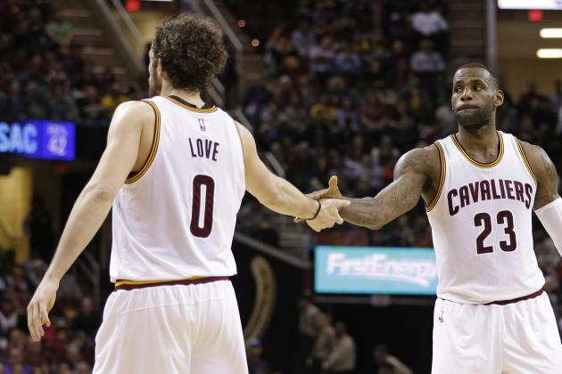 Cavaliers GM David Griffin Comments on Kevin Love Trade Talks, LeBron James