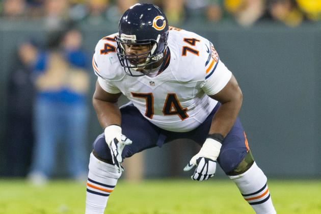Jermon Bushrod to Dolphins: Latest Contract Details, Comments and Reaction