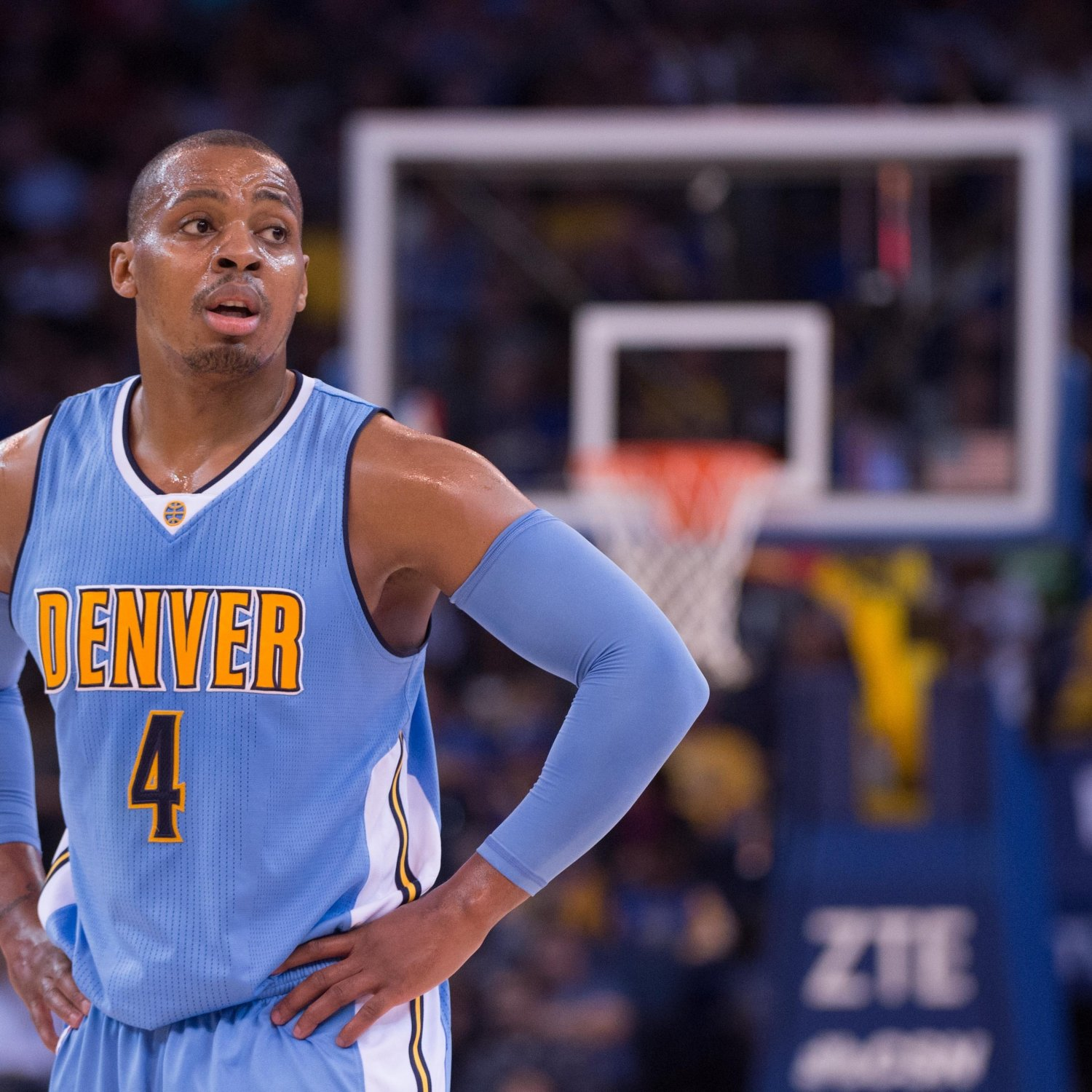 Randy Foye Found Out He Was Traded To Thunder With Update
