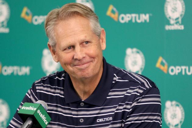 Danny Ainge Comments on Celtics' NBA Trade-Deadline Discussions