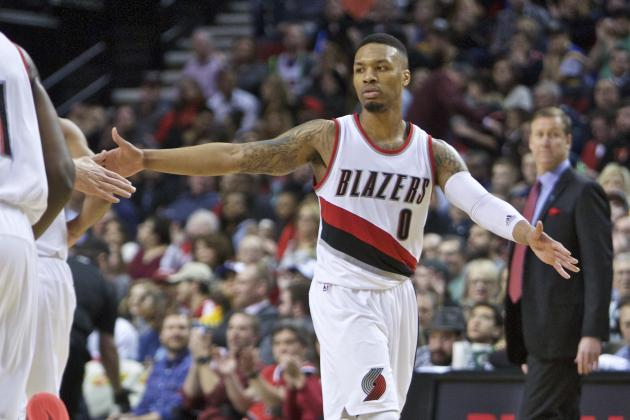 Damian Lillard vs. Warriors: Stats, Highlights and Twitter Reaction