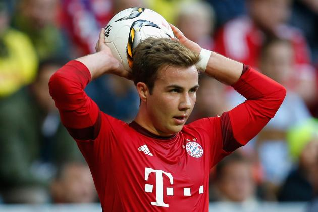 Liverpool Transfer News: Mario Gotze Battle with Juventus Reported, Top Rumours
