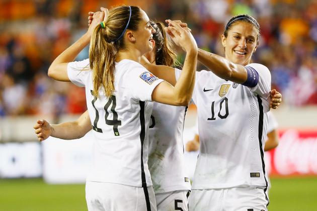 USA vs. Canada Women's Soccer: 2016 Olympic Qualifying TV Info, Live Stream