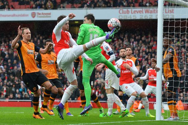 Arsenal vs. Hull City: Score, Reaction from 2016 FA Cup 5th-Round Match