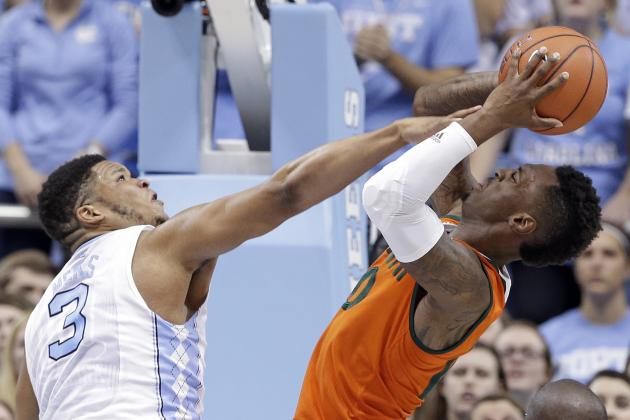 Miami vs. UNC: Score, Highlights and Reaction From 2016 Regular Season