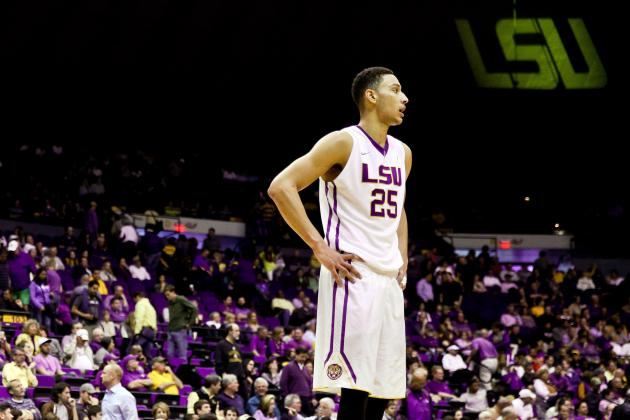 Ben Simmons Benched by LSU vs. Tennessee for Academic Reasons