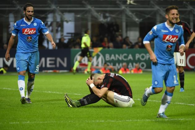 Napoli vs. AC Milan: Team News, Predicted Lineups, Live Stream, TV Info
