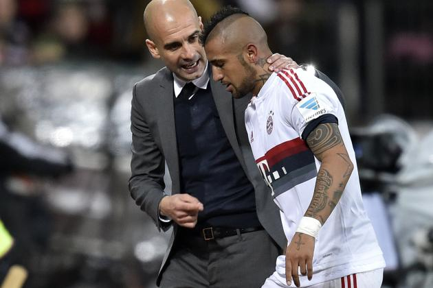 Arturo Vidal Reveals Bayern Squad Only Found Out About Guardiola's Exit Via TV