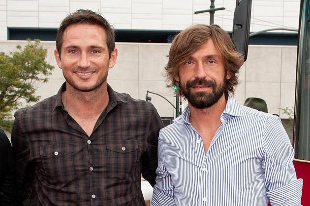 Frank Lampard Reveals He's Trying to Get Andrea Pirlo Drinking Beer