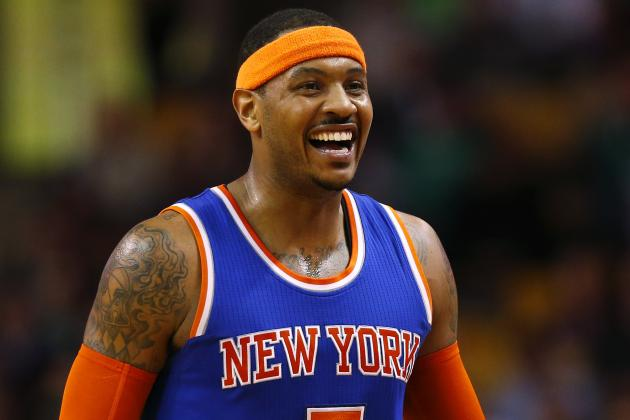 Carmelo Anthony Gives Kanye West's 'The Life of Pablo' Album a Good Review