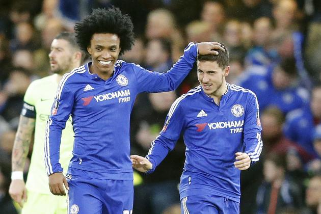 Chelsea vs. Manchester City: Score, Reaction from 2016 FA Cup 5th-Round Match
