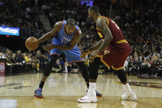 Cleveland Cavaliers vs. OKC Thunder: Live Score, Highlights and Reaction