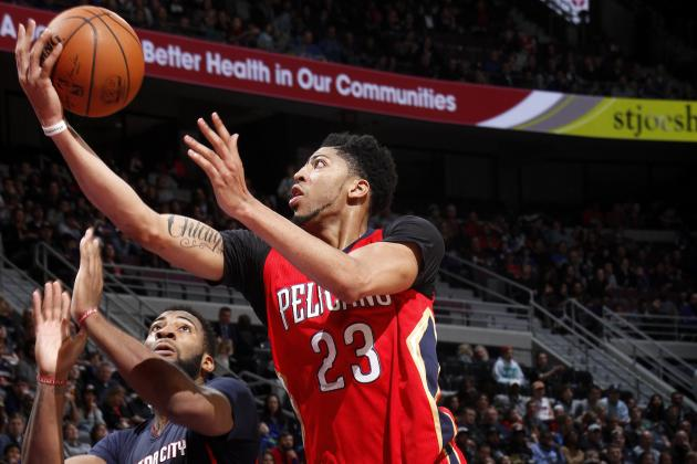 Anthony Davis vs. Pistons: Stats, Highlights and Twitter Reaction