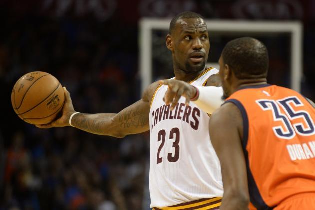 NBA Sunday Roundup: LeBron James Exposes Kevin Durant's Hidden Limitation