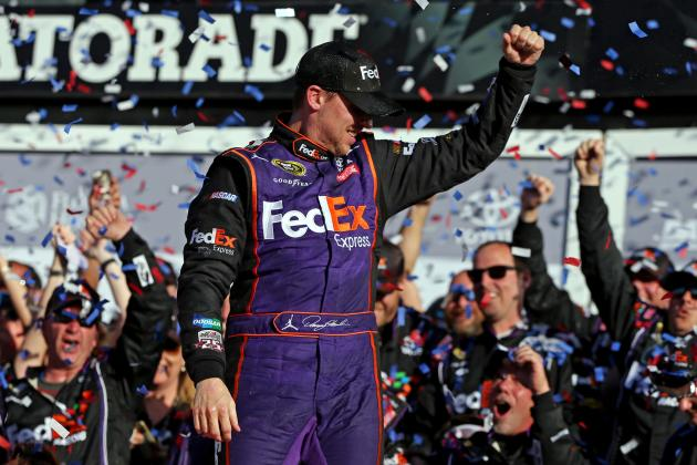 Denny Hamlin's Photo-Finish Daytona 500 Win the Zenith of What NASCAR Desires