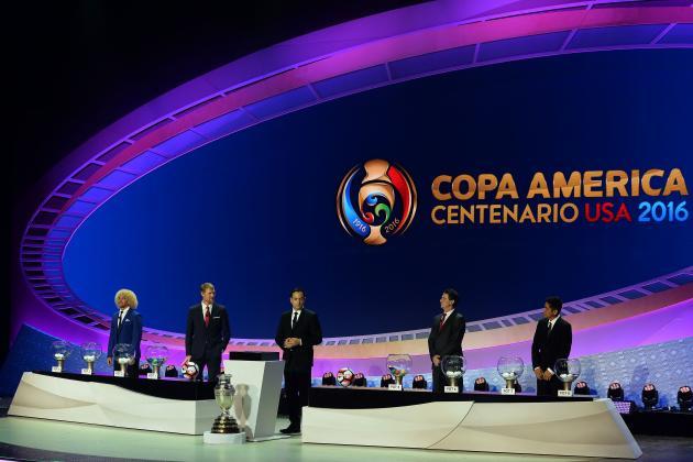 Copa America Centenario 2016 Draw Results: Groups, Bracket, Schedule Revealed