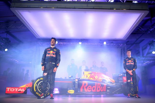 Red Bull RB12 F1 Car Launch: 2016 Images and Details Released