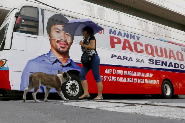 Manny Pacquiao vs. Timothy Bradley: Petition Filed by Pac-Man's Political Rival