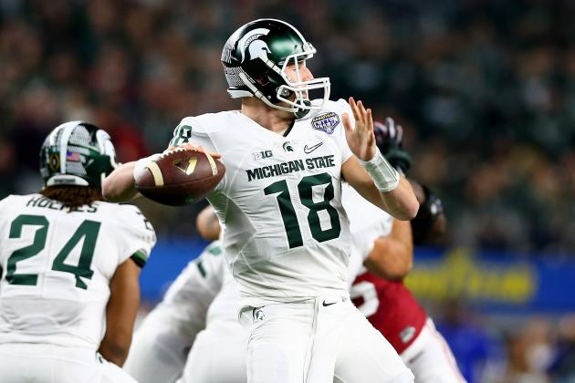 Connor Cook: Latest News, Rumors and Buzz Surrounding QB's Draft Stock