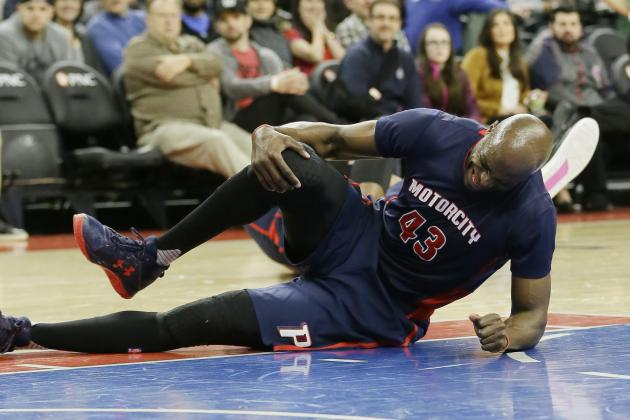 Anthony Tolliver Injury: Updates on Pistons PF's Knee and Return