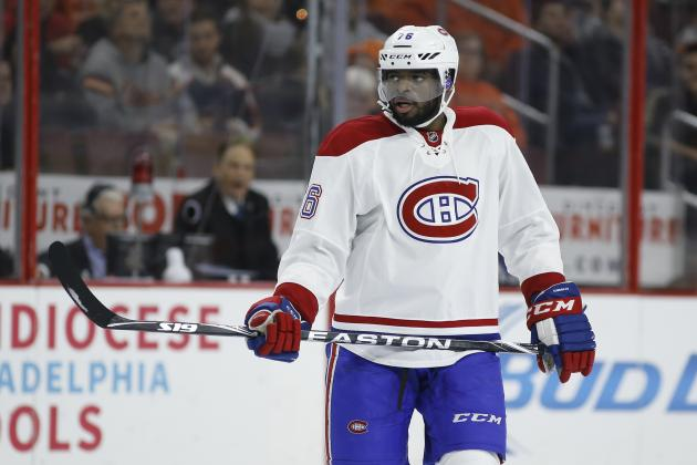 P.K. Subban's Kind Gesture Ends with Puck Accidentally Striking Baby