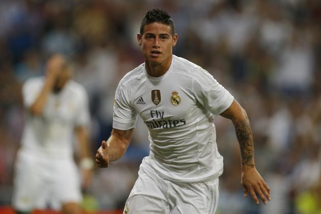 James Rodriguez Reportedly Told to Visit Psychologist by Zinedine Zidane