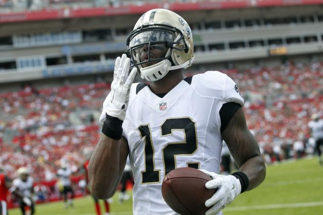 Marques Colston Released by New Orleans Saints