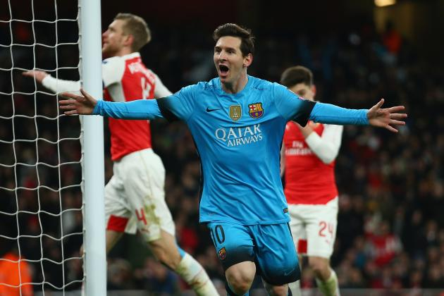 Arsenal vs. Barcelona: Score and Reaction from 2016 Champions League