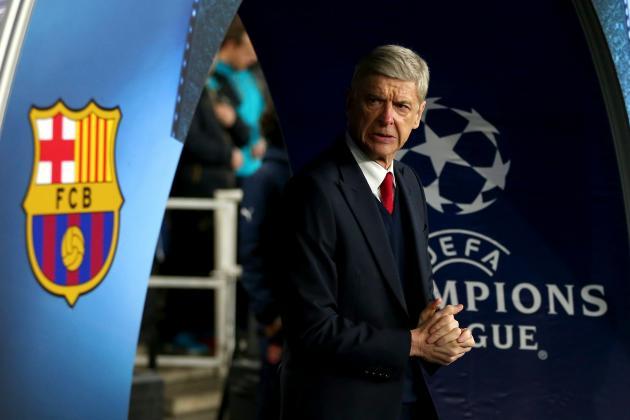 Arsene Wenger Slams 'Naive' Arsenal After 2-0 Champions League Loss to Barcelona