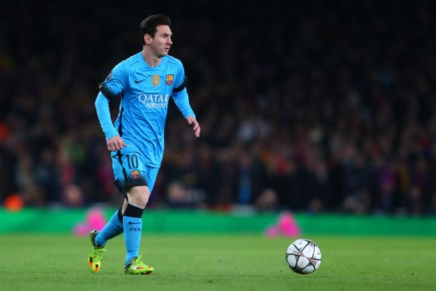 Lionel messi says barcelona 39 knew 39 arsenal would fade in - Ama barcelona ...