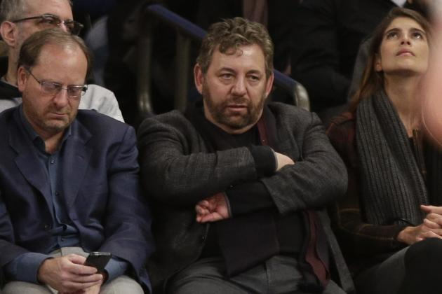 James Dolan Reportedly Frustrated with Knicks' Struggles