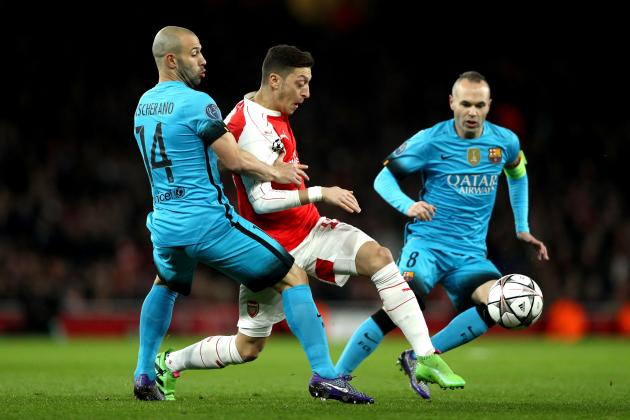 Spanish Newspaper Give Mesut Ozil No Rating for Performance vs. Barcelona