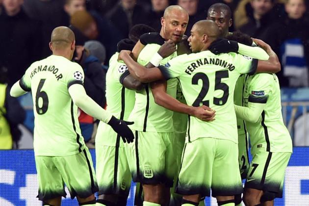 Dynamo Kiev vs. Manchester City: Live Score, Highlights from Champions League
