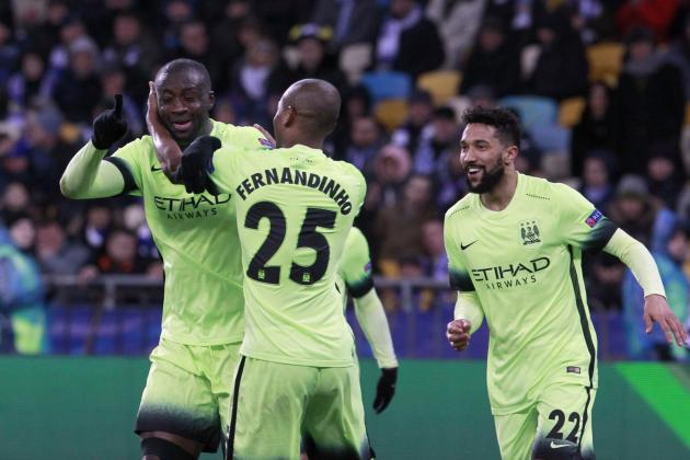 Manchester City Back to Their Best Against Kiev Ahead of Vital League Cup Final