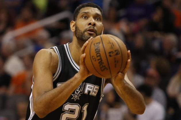 Duncan Finishes Game Without Any Points for 2nd Time in Career