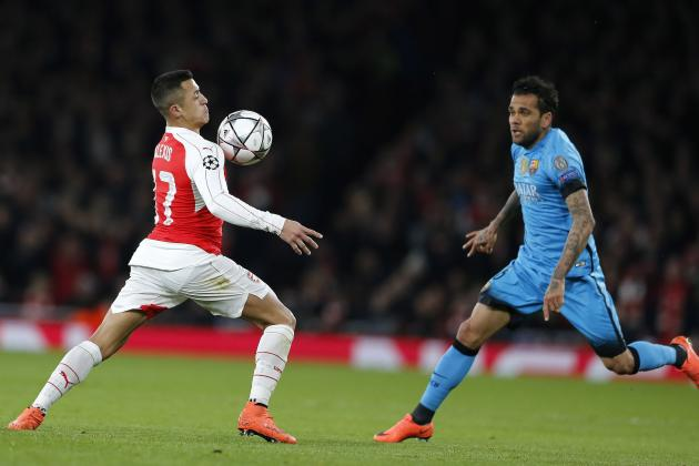 Alexis Sanchez Criticised by Joey Barton Following Arsenal vs. Barcelona Game