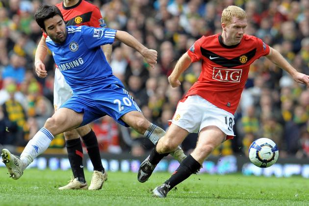 Deco Says Paul Scholes Was Better Than Frank Lampard and Steven Gerrard