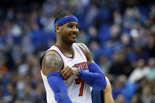 Carmelo Anthony Reportedly Was Trade Target for Celtics Prior to Deadline